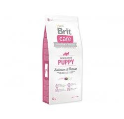 BRIT CARE GRAIN-FREE PUPPY SALMON & POTATO 12 KG (294-132718) + internetová televízia SledovanieTV na dva mesiace v hodnote 11,98 €