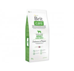 BRIT CARE GRAIN-FREE ADULT LARGE BREED SALMON & POTATO 12 KG (294-132727)