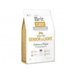 BRIT CARE GRAIN-FREE SENIOR & LIGHT SALMON & POTATO 3 KG (294-132734)
