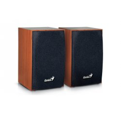 GENIUS SP-HF160 SPEAKER WOODEN SPK 2WX2 USB WOOD
