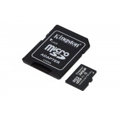 KINGSTON 32GB MICROSDHC UHS-I INDUSTRIAL TEMP CLASS 10 + SD ADAPTER, SDCIT/32GB