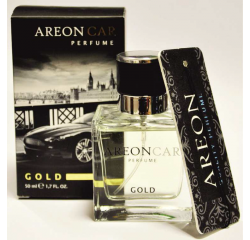 AREON CAR PARFUME GOLD NOVY 50ML