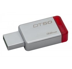 KINGSTON 32GB USB 3.0 DATATRAVELER 50 (METAL/RED) DT50/32GB