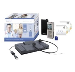 OLYMPUS DS-2500 SILVER PRO DICTATION AND TRANSCRIPTION KIT