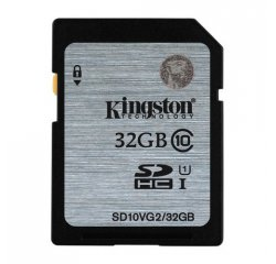 KINGSTON SDHC 32GB CLASS 10 (SD10VG2/32GB) SD10VG2/32GB