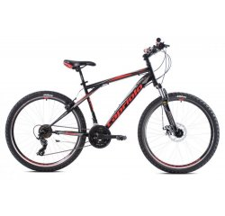 "CAPRIOLO MTB ADRENALIN 26""/21HT BLACK/RED  919431-18"