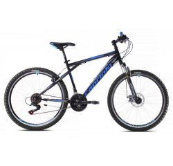 "CAPRIOLO MTB ADRENALIN 26""/21HT BLACK/BLUE 919432-20"