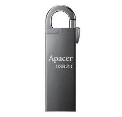 APACER AH15A USB FLASH DISK, 3.1, 16GB, STRIEBORNY, STRIEBORNA, S KARABINKOU, AP16GAH15AA-1