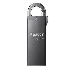 APACER AH15A USB FLASH DISK, 3.1, 32GB, STRIEBORNY, STRIEBORNA, S KARABINKOU, AP32GAH15AA-1