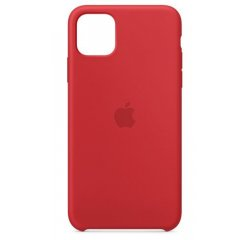 APPLE IPHONE 11 PRO MAX SILICONE CASE - RED, MWYV2ZM/A