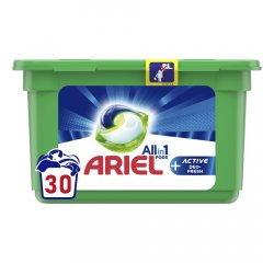 ARIEL ALL IN 1 GELOVE TABLETY ACTIVE DEO FRESH 30KS