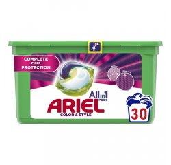 ARIEL ALL IN 1 GELOVE TABLETY COLOR & STYLE 30KS