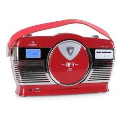 AUNA RCD-70RE, RETRO RADIO,FM, USB, CD, BATERIA, 10008986 - 3 ROČNÁ ZÁRUKA