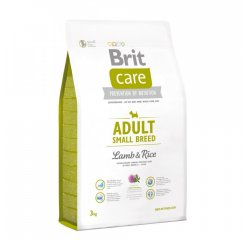 BRIT CARE ADULT SMALL BREED LAMB & RICE 3 KG (294-132707)