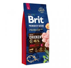 BRIT PREMIUM BY NATURE ADULT L 15 KG (294-170827)