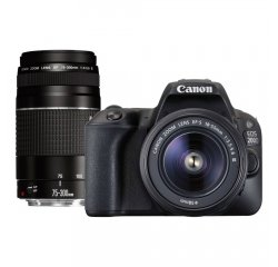 CANON EOS 200D + EF-S 18-55MM F/3,5-5,6 DC III + EF 75-300MM F/4-5,6 III