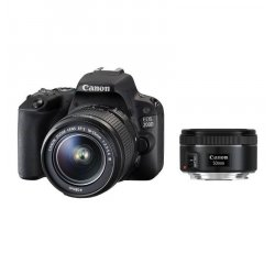 CANON EOS 200D + EF-S 18-55MM F/4-5,6 IS STM + EF 50MM F/1.8 STM