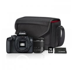 CANON EOS 4000D + EF-S 18-55MM DC VALUE UP KIT (BRASNA + 16GB SDHC KARTA)