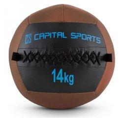 CAPITAL SPORTS WALLBA 14, 14KG, HNEDA, WALL BALL (MEDICINBAL) Z UMELEJ KOZE, 10028397 + OKAMŽITÝ BONUS 5.00 € - KONEČNÁ CENA PO VLOŽENÍ DO KOŠÍKA 44.90 €