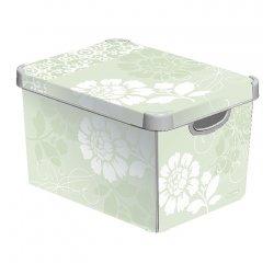 CURVER ULOZNY BOX L SEDIVY ROMANCE, 188163
