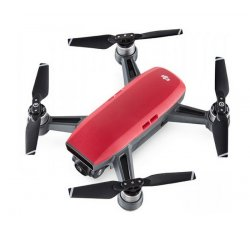 DJI KVADROKOPTERA - DRON SPARK LAVA RED + VYSIELAC, DJIS0203