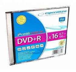 ESPERANZA DVD+R SLIM JEWEL CASE 1 4,7 GB 16X