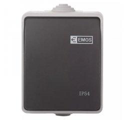EMOS A1398.2 PREPINAC C.7 IP54 SEDO-CIERNY
