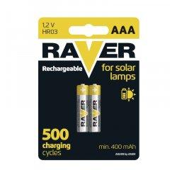 EMOS B7414 RAVER BATERIA PRE SOLAR LAMPY 400MAH 1,2V, 2 KS
