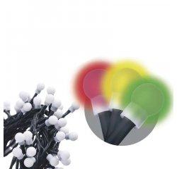 EMOS ZY1453 VIANOCNA RETAZ CHERRY MULTIFUNKCNA 8M 80 LED MULTICOLOR