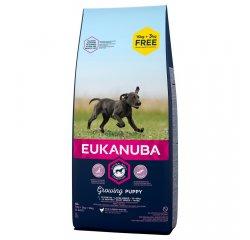 EUKANUBA PUPPY AND JUNIOR LARGE 15+3 KG