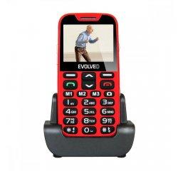 EVOLVEO EASYPHONE XD, TELEFON PRE SENIORY, CERVENY EP-600-XDR
