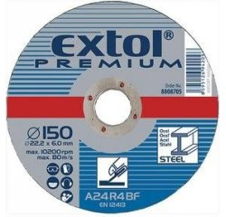 EXTOL PREMIUM KOTUC BRUSNY NA KOV, 230X6,0X22,2MM, 8808709