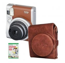 FUJIFILM INSTAX MINI 90 NEO CLASSIC BROWN + FILM + PUZDRO