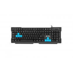 FURY GAMING KEYBOARD HORNET USB, US LAYOUT, BLACK NFU-0865