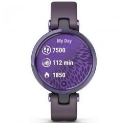 GARMIN LILY, SPORT, MIDNIGHT ORCHID/DEEP ORCHID, SILICONE 010-02384-12