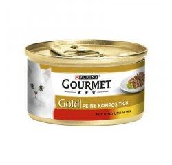 GOURMET GOLD DUO 85G HOVADZIE A KURA