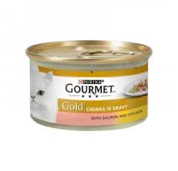 GOURMET GOLD KUSKY 85G LOSOS A KURA VO STAVE