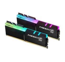 G.SKILL DDR4 64GB (2X32GB) TRIDENT Z RGB DIMM 3200MHZ CL14, F4-3200C14D-64GTZDCB