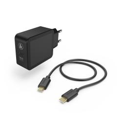 HAMA 183326 SET RYCHLA USB NABIJACKA USB-C PD/QC 3.0 18 W +