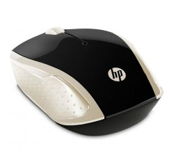 HP WIRELESS MOUSE 200 SILK GOLD, 2HU83AA#ABB