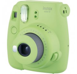FUJIFILM INSTAX MINI 9 LIME GREEN + 10KS FILM + PUZDRO