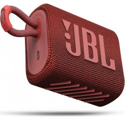JBL GO3 RED + internetová televízia SledovanieTV na dva mesiace v hodnote 11,98 €