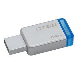 KINGSTON 64GB USB 3.1 DATATRAVELER DT50 KOVOVA MODRA, DT50/64GB