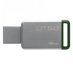 KINGSTON 16GB USB 3.0 DATATRAVELER 50 (METAL/GREEN), DT50/16GB