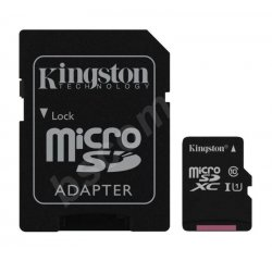 KINGSTON MICRO SDXC 256GB UHS-I U1 45R/10W SDC10G2/256GB
