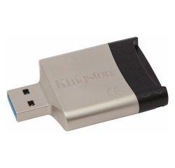 KINGSTON MOBILELITE G4 USB 3.0 CITACKA KARIET, FCR-MLG4