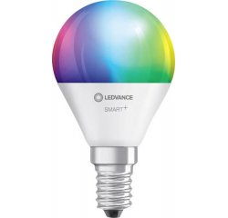 LEDVANCE SMART+ WIFI CL P RGBW 40 YES 5W/ E14, MENITELNE FARBY, STMIEVATELNA
