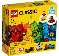 LEGO CLASSIC KOCKY A KOLESA /11014/