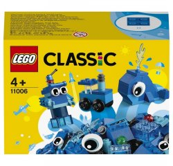 LEGO CLASSIC MODRE KREATIVNE KOCKY /11006/