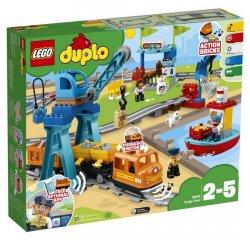 LEGO DUPLO TOWN NAKLADNY VLAK /10875/ + darček OSMOZA ANTIBAKTRIALNY GEL NA RUKY 100ML